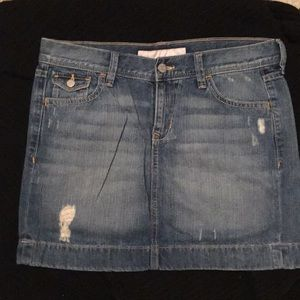 Old Nave Jean Skirt -size 6